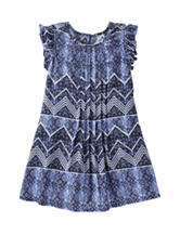 OshKosh B'gosh® Multicolor Chevron Print Dress - Toddler Girls