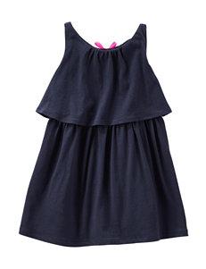 OshKosh Bgosh® Navy Popover Tunic Top - Girls 4-6x