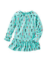 OshKosh B'gosh® Feather Print Tunic Top - Toddler Girls