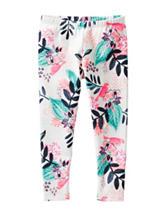 OshKosh B'gosh® Multicolor Floral Print Leggings - Toddler Girls