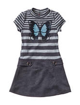 Lilt Butterfly Marsha Dress - Girls 4-6x