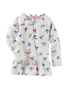 OshKosh B'gosh® Bird Print Tunic - Toddlers & Girls 4-6x