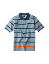 Nautica Classic Striped Seascape Polo Shirt – Boys 8-20