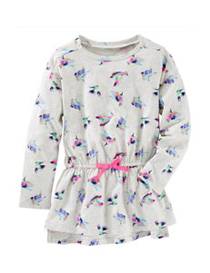OshKosh B'gosh® Bird Print Top - Toddlers & Girls 5-6x