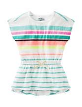 OshKosh B'gosh® Multicolor Striped Tunic Top – Toddler Girls