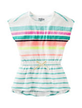 OshKosh B'gosh® Multicolor Striped Tunic Top – Girls 4-6x