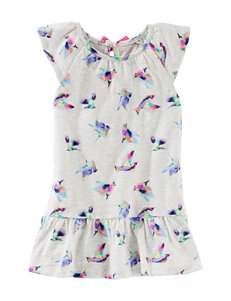 OshKosh B'gosh® Flutter Bird Print Tunic Top – Toddler Girls