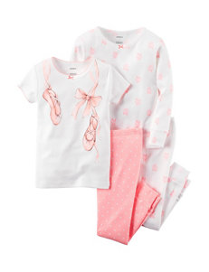 Carter's® 4-pc. Ballerina Pajama Set – Girls 10-12