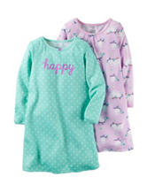 Carter's® 2-pk. Happy Sleep Gown Set – Girls 2-10