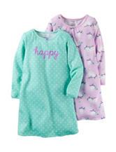 Carter's® 2-pk. Happy Sleep Gown Set – Girls 2-10