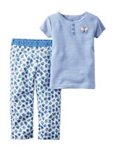Carter's® 2-pc. Butterfly Pajama Set - Toddler Girls