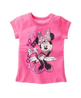 Minnie Mouse Bows Top - Toddler Girls