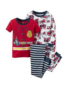 Carter's® 4-pc. Fireman Pajama Set – Boys 4-8