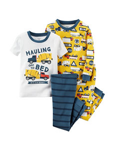 Carter's® 4-pc. Hauling Off To Bed Pajama Set - Boys 4-8