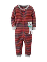 Carter's® Dog Stripe Print Footless Sleeper – Toddler Boys
