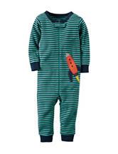 Carter's® Rocket Stripe Print Footless Sleep & Play - Toddler Boys