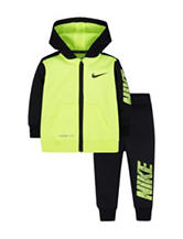 Nike® 2-pc. Color Block Jacket & Pants Set - Baby 12-24 Mon.