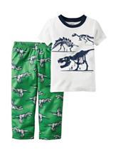 Carter's® 2-pc. Dinosaur Print Pajama Set - Boys 4-8