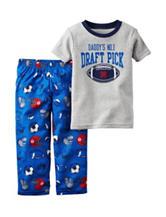 Carter's® 2-pc. Draft Pick Pajama Set - Toddler Boys