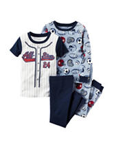Carter's® 4-pc. All-Star Pajama Set - Toddler Boys