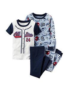 Carter's® 4-pc. All-Star Pajama Set - Boys 4-8