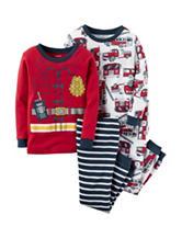 Carter's® 4-pc. Fireman Pajama Set - Boys 10-12