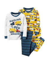 Carter's® 4-pc. Hauling Off To Bed Pajama Set - Boys 10-12