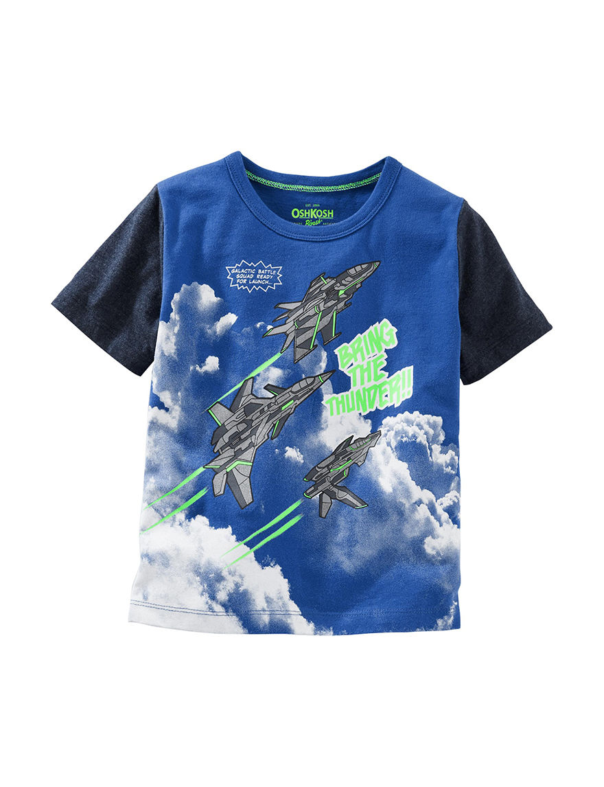 Oshkosh B'Gosh Blue Tees & Tanks