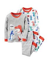 Carter's® 4-pc. Dino Rawr Pajama Set - Toddler Boys