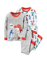 Carter's® 4-pc. Dino Rawr Pajama Set - Boys 4-8