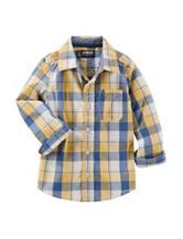 OshKosh B'gosh® Multicolor Plaid Print Woven Shirt - Boys 4-7