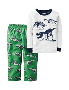 Carters® 2-pc. Dinosaur Pajama Set - Toddler Boys