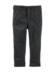 OshKosh B'gosh® Grey Flat Front Twill Pants - Boys 4-7