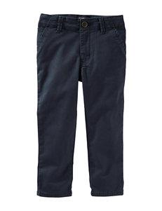 OshKosh B'gosh® Navy Flat Front Twill Pants - Boys 4-7