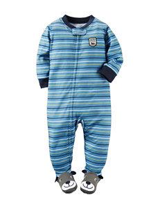 Carter's® Leader of the Pack Stripe Print Sleep & Play - Toddler Boys