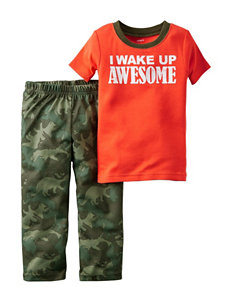 Carter's® 2-pc. Wake Up Awesome Pajama Set - Toddler Boys