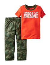 Carter's® 2-pc. Wake Up Awesome Pajama Set - Boys 4-8
