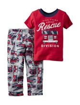 Carter's® 2-pc. Fire Rescue Pajama Set - Toddler Boys
