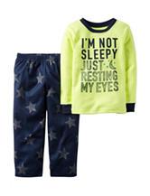 Carters® 2-pc. Im Not Sleepy Pajama Set - Boys 4-8