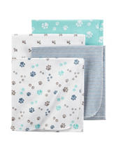 Carter's® 4-pk. Dog Print Receiving Blankets
