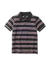 U.S. Polo Assn. Striped Pique Polo Shirt - Boys 4-7