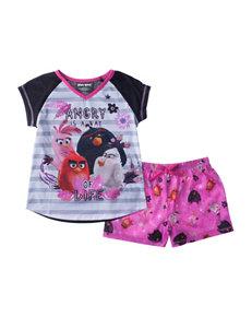 Licensed Pink Pajama Sets
