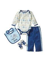 Baby Gear 4-pc. Thank Heaven Pants Set - Baby 0-12 Mon.