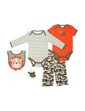 Baby Gear 5-pc. Little but Loud Bodysuit & Pants Set - Baby 0-9 Mos.