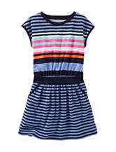 OshKosh B'gosh® Striped Rib Knit Dress – Girls 4-6x