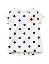 Carter's® Polka Dot Print Top – Toddler Girls