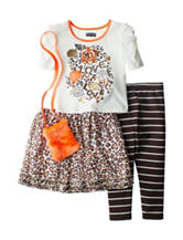 Pogo Club 3-pc. Animal Print Set with Purse - Girls 4-6x