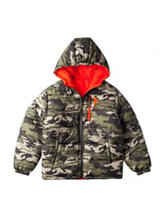 U.S. Polo Assn. Reversible Puffer Jacket - Boys 8-20