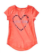 Twirl Coral Style Icon Hi-Lo Top – Girls 7-16
