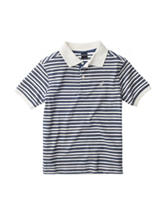 Nautica Deep Sea Striped Polo Shirt - Boys 4-7